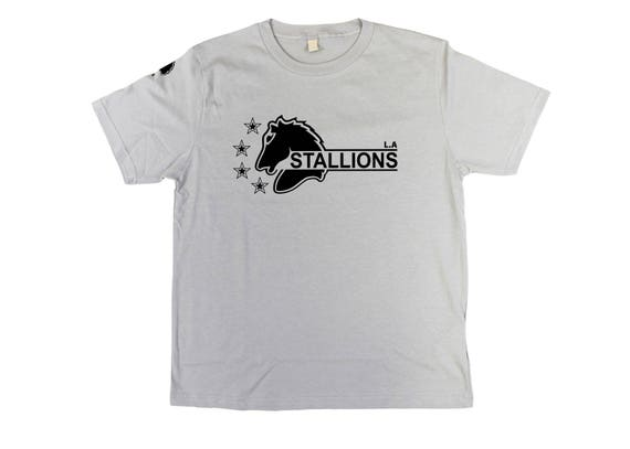 The Last Boy Scout: La Stallions Unisex 3/4 Sleeve Baseball T-shirt edqjwrMU