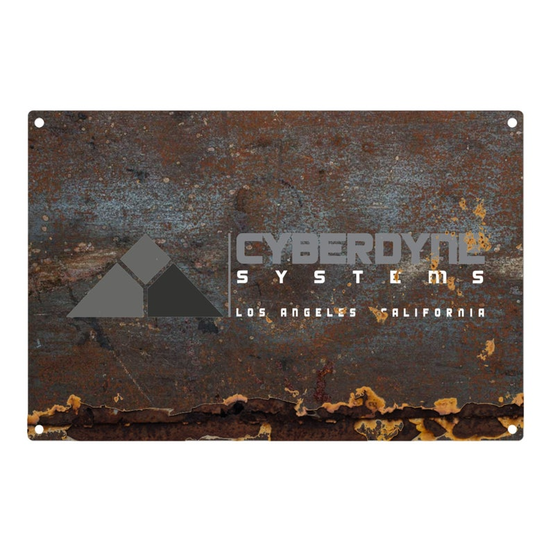 The Terminator: Cyberdyne Systems Metal Sign 12x8 image 0