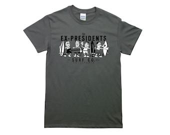 Point Break: Ex-presidents Mens Fit T-shirt