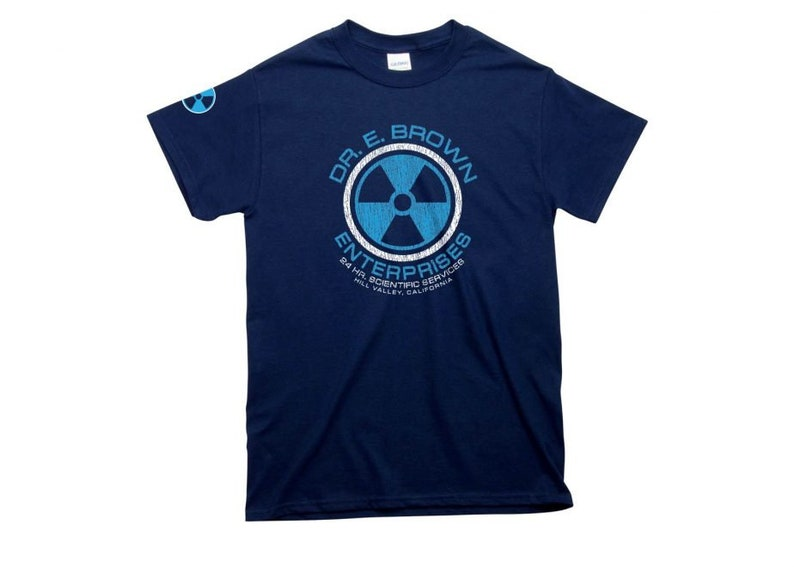 Back To The Future: DR. E. BROWN ENTERPRISES Mens Fit T-shirt image 0