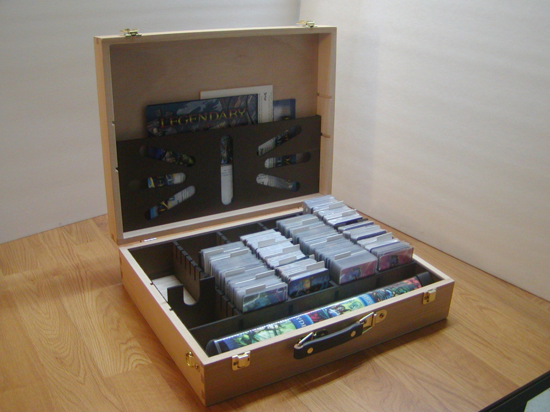 Legendary Deck Building Game Hobby Lobby Art Box Card