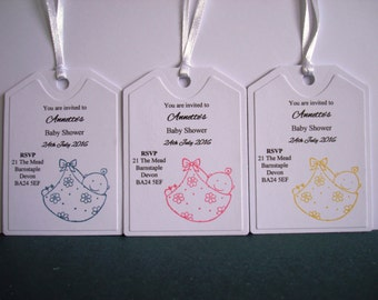 10pk Baby Shower Invites with Envelopes