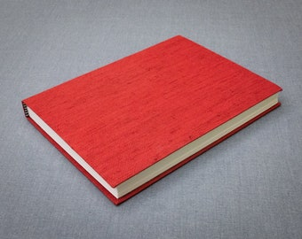 Red Book Cloth Notebook