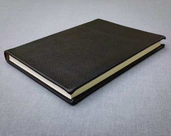 Black Leather Notebook