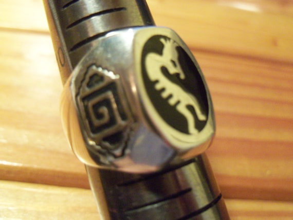 Kokopelli Flute Ring # K-2 - image 7