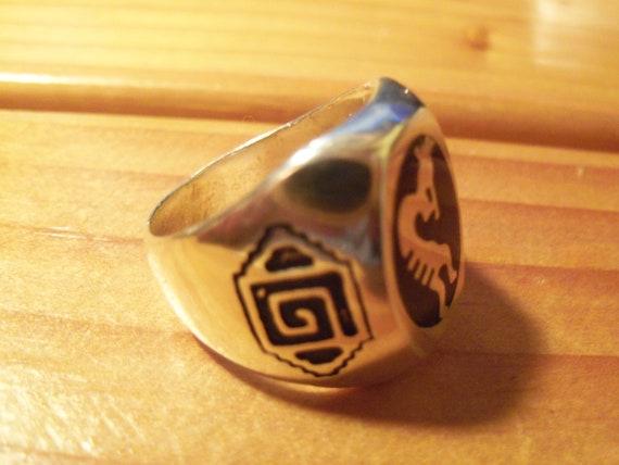 Kokopelli Flute Ring # K-2 - image 5