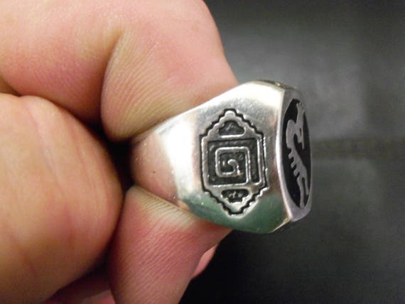 Kokopelli Flute Ring # K-2 - image 3