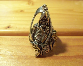 Grim Reaper with Sickle Ring