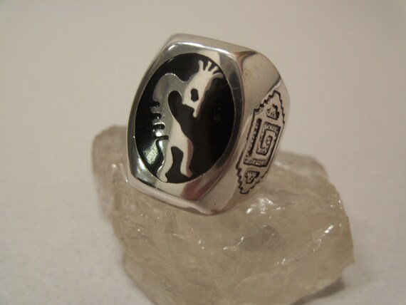 Kokopelli Flute Ring # K-2 - image 10