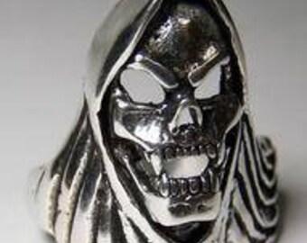 Grim Reaper Skull with Cape