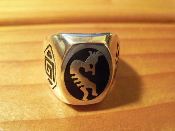 Kokopelli Flute Ring # K-2 - image 4