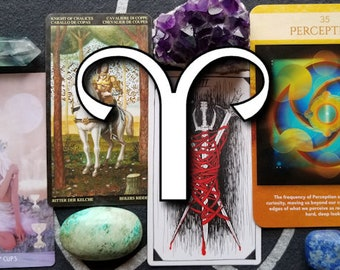 Aries Downloadable Zodiac Tarotscope for July 2018