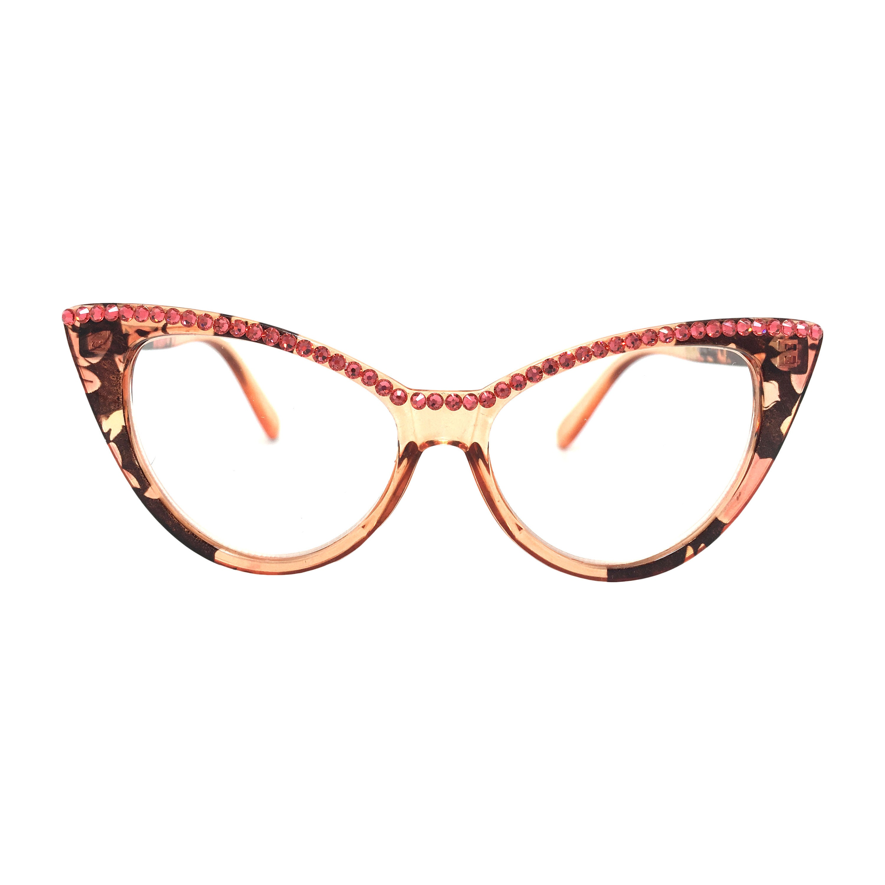 d7bd7d5ab05 Cat lady padparadscha big cateye reading glasses with etsy jpg 3000x3000 Big  reading glasses