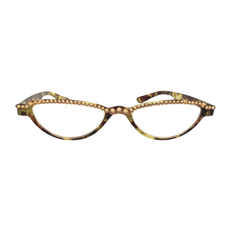 088f4e4d2b9cc Itty Bitty Topaz Small Reading Glass Eye Frames with