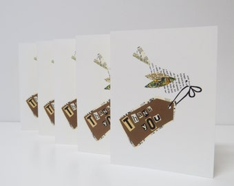Bird  Flying Note Cards