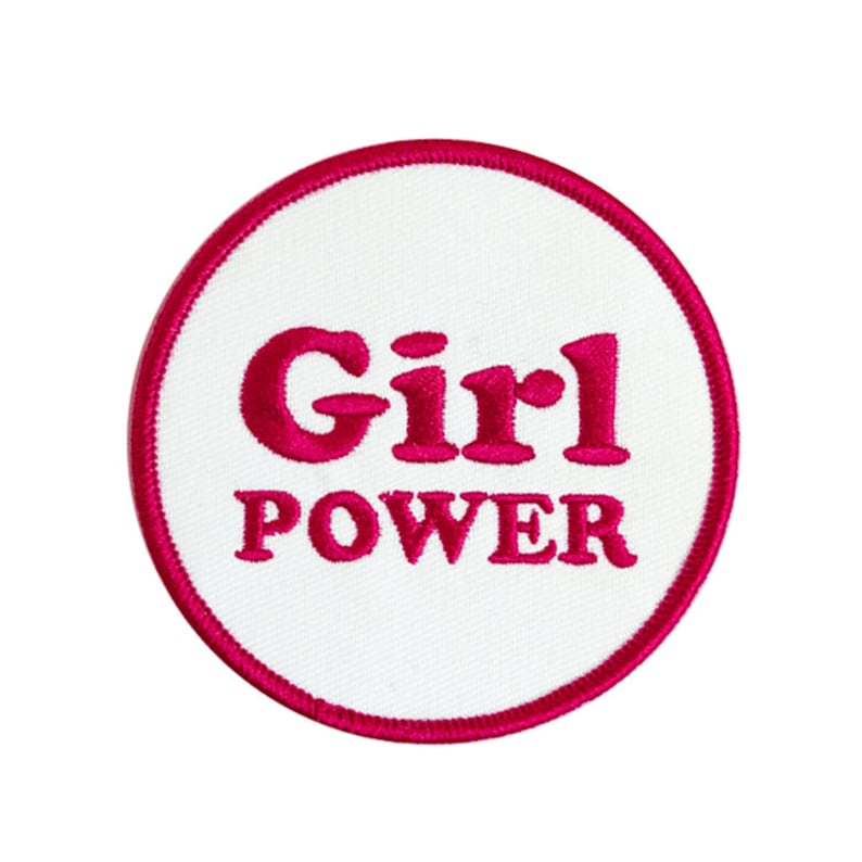 Girl Power Iron-on Patch image 0