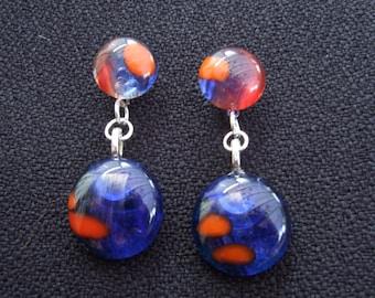 Summer Pond earrings