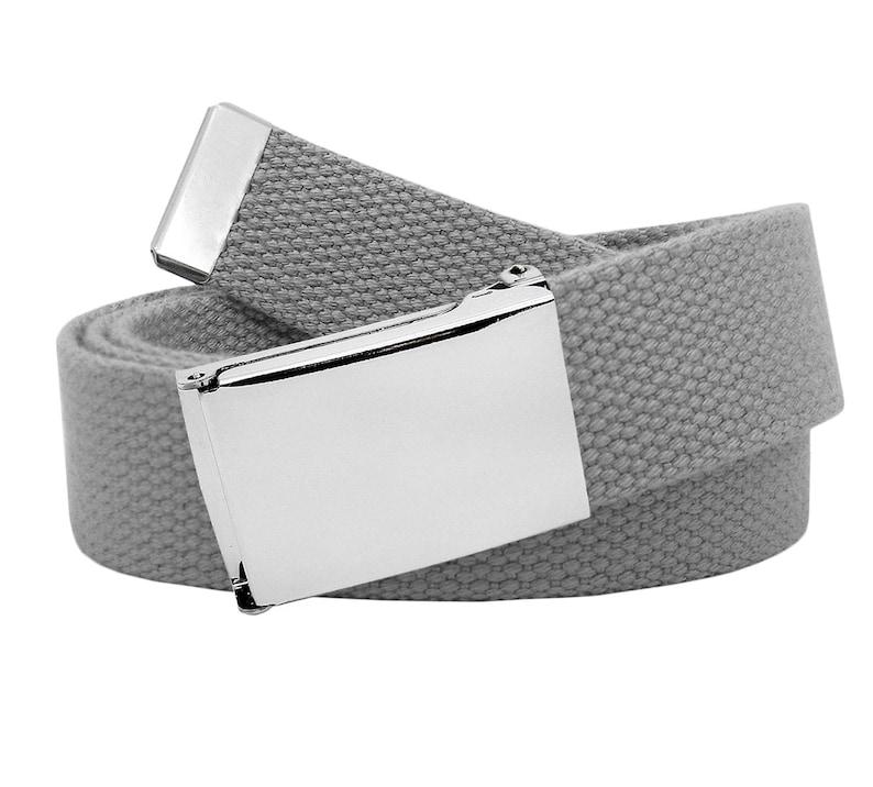 3f45ef14fe8b2 Boy's School Uniform Military Style Silver Flip Top Belt | Etsy