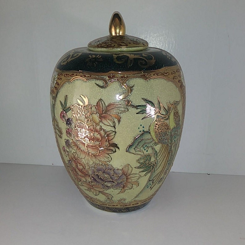 Antiquariato Ottone Vaso Arabo Anni 50 Decorato A Mano Top Collezionismo Vintage Complementi D'arredo