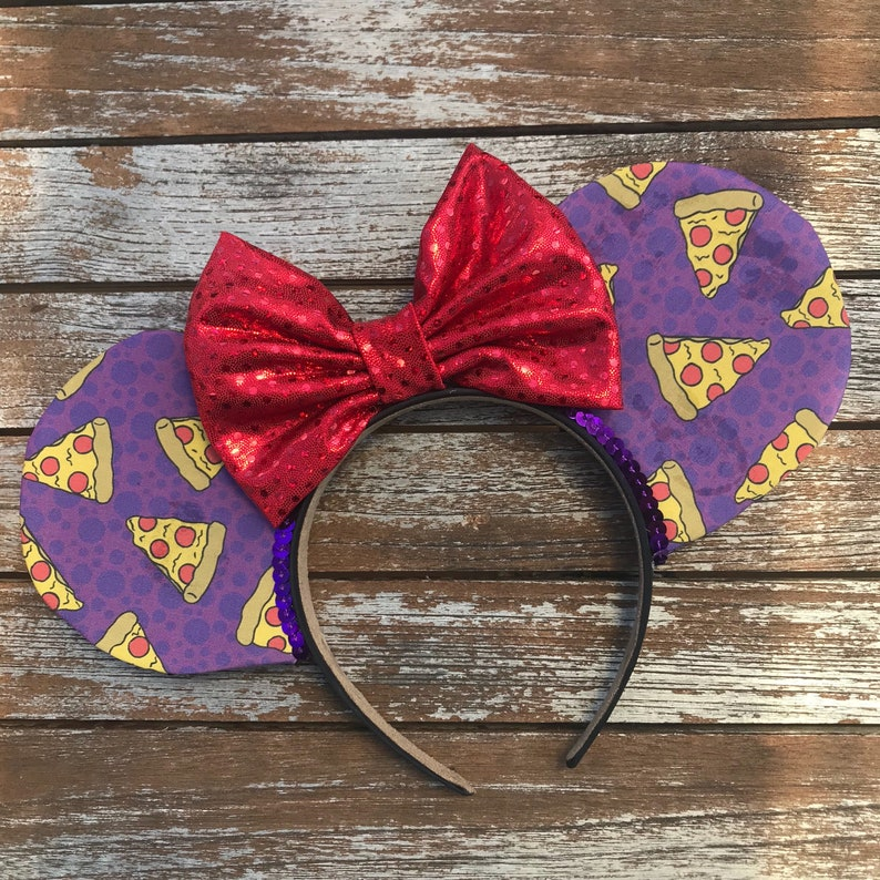 Pizza Mouse Ears