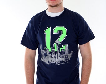 the latest f7ace 4f35e Seattle seahawks shirt | Etsy