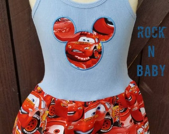 Lightning Mcqueen, Dress.