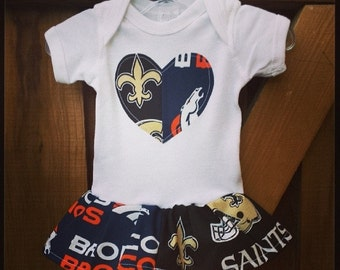 House Divided, Onesie dress. All NFL and College Teams Available.