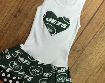 New York Jetts, Dress. All NFL and College Teams Available.