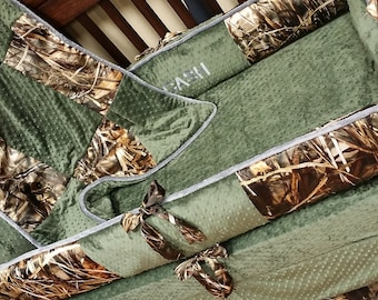 MAX 4, Camo, Hunter, Crib Set. You design. Several Colors Available.