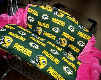 Green Bay Packers, Shopping Cart Cover. All NFL teams available to choose from
