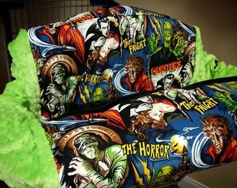 Monsters, Villians, Shopping Cart Cover