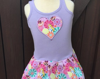 Alice in Wonderland Dress. Lavender