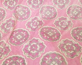 Barcelona minky. Barcelona Sofia Minky. Shannon fabrics. Minky. Shabby chic fabric. Pink minky fabric. Minky BTY