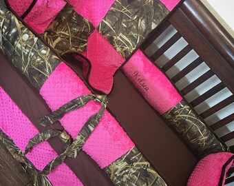 MAX 4, Camo, Hunter, Crib Set. Several Colors Available.