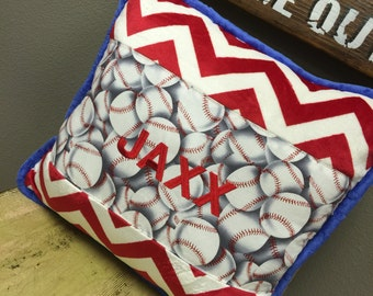 Throw Pillow. Baseball