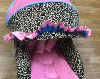 Cheetah Infant Car Seat Replacement Cover.