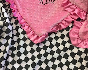 Checkered Baby Blanket
