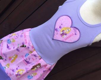 Custom Girls Dress. Disney Princess Inspired.