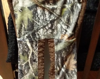 Diaper Stacker. You choose fabrics. Camo