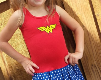 Wonder Woman, Super Hero, DRESS.