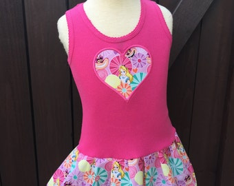 Alice in Wonderland Dress. Pink