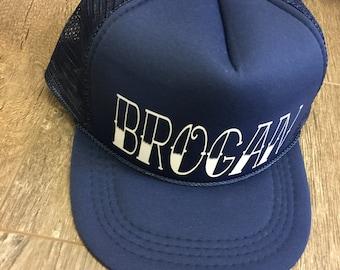 Infant Trucker Hat, Toddler Trucker Hat. Custom name.