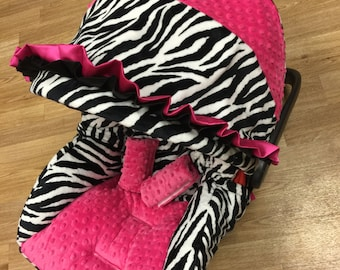 Zebra Infant Car Seat Replacement Cover.