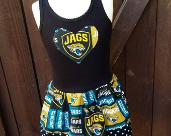 Jacksonville Jaguars, Dress. All NFL and College Teams Available.