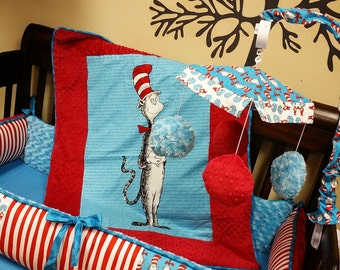 Dr. Seuss Fabric. Crib Mobile. Custom your own. You choose fabric.