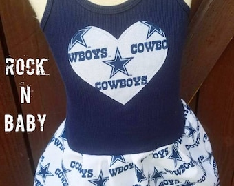 Dallas Cowboys, Dress. All NFL and College Teams Available.