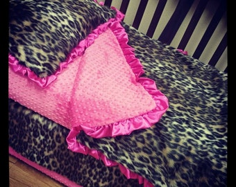 Cheetah, Toddler Bed Set