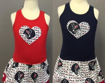 Houston Texans, Dress. All NFL and College Teams Available.