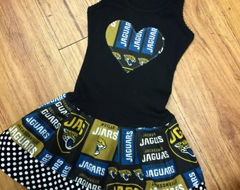 Custom Dress. Jacksonville Jaguars