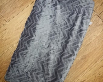 Grey Chevron, Changing Pad. You choose fabric.